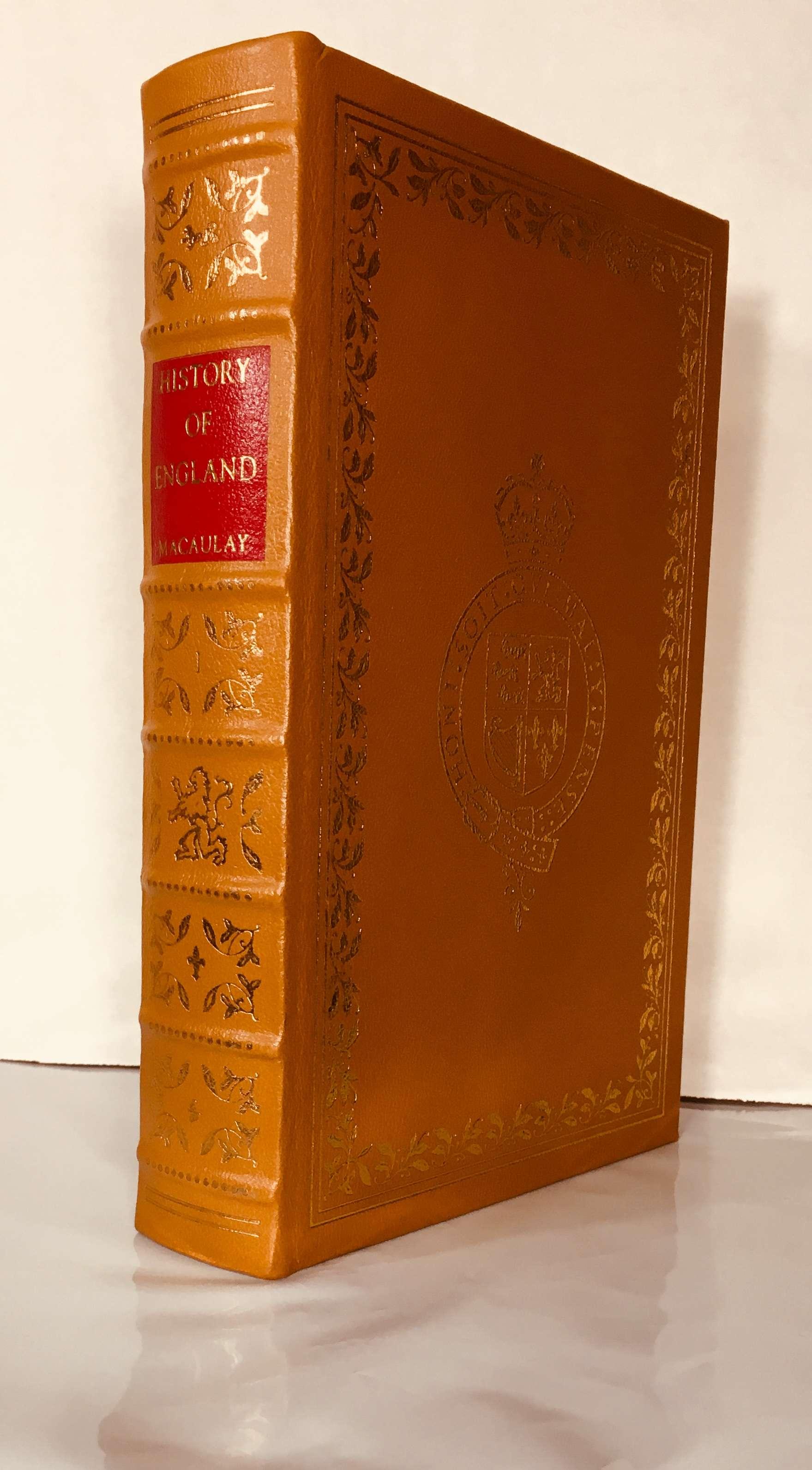 History of England Volume 1 Easton Press, Lord Thomas Macaulay