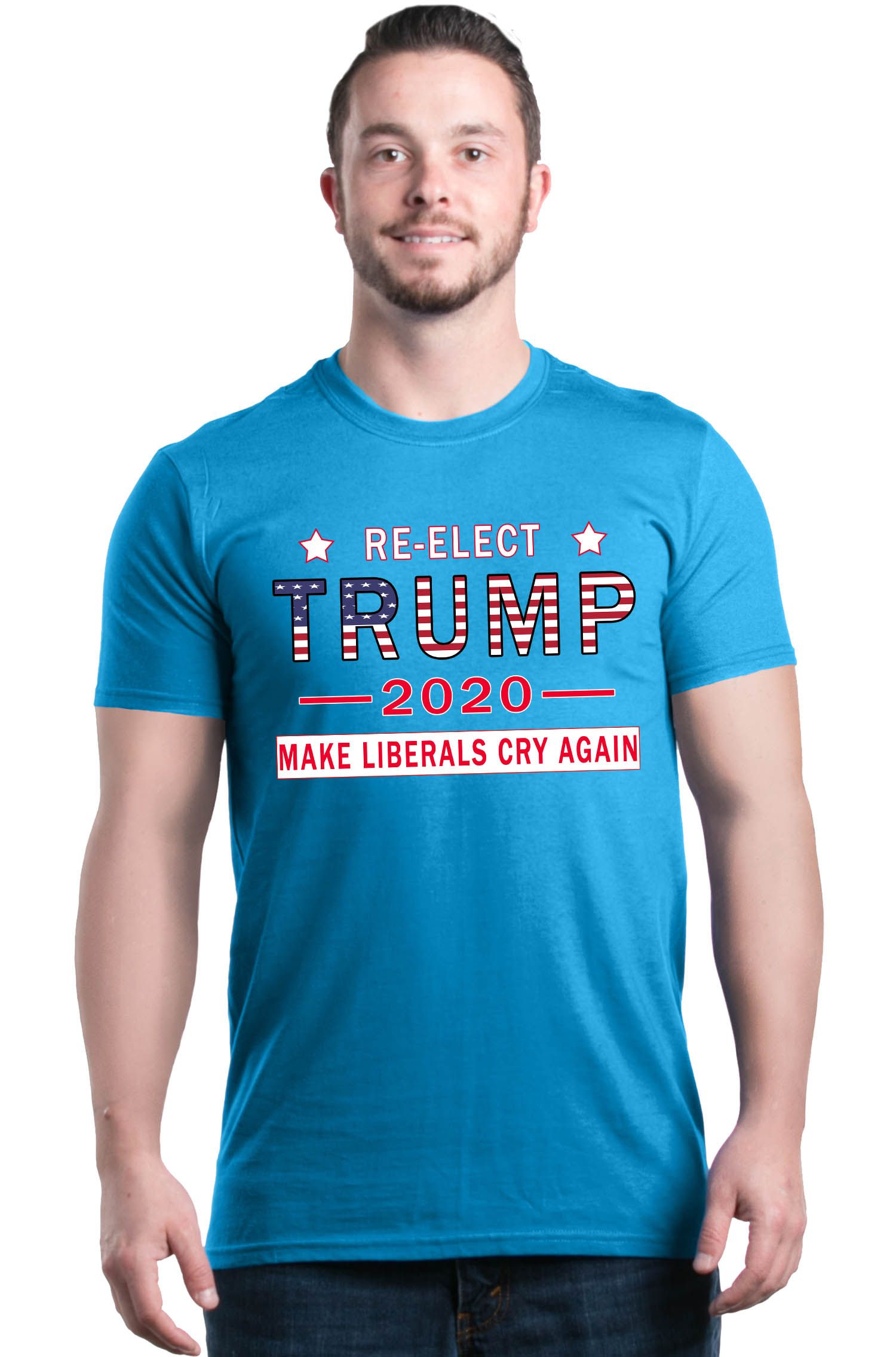 Re-Elect-Trump-2020-Make-Liberals-T-shirt-Political-Election-Shirts thumbnail 27