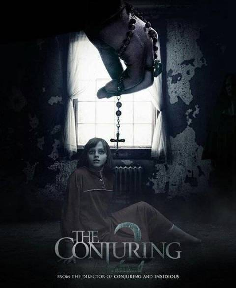 Poster The Conjuring 2 (2016) Full HD 720p Dual Audio Free Download In Hindi