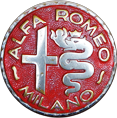 1946 Alfa Romeo Badge Logo