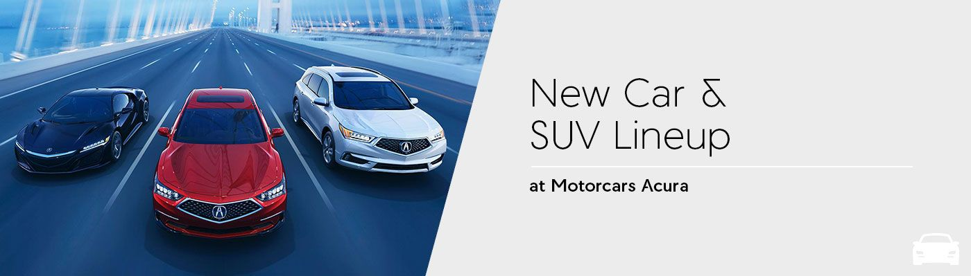 2018 Acura Model Lineup at Motorcars Acura in Bedford, OH