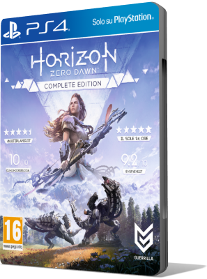 [PS4] Horizon Zero Dawn - Complete Edition (2017) - FULL ITA