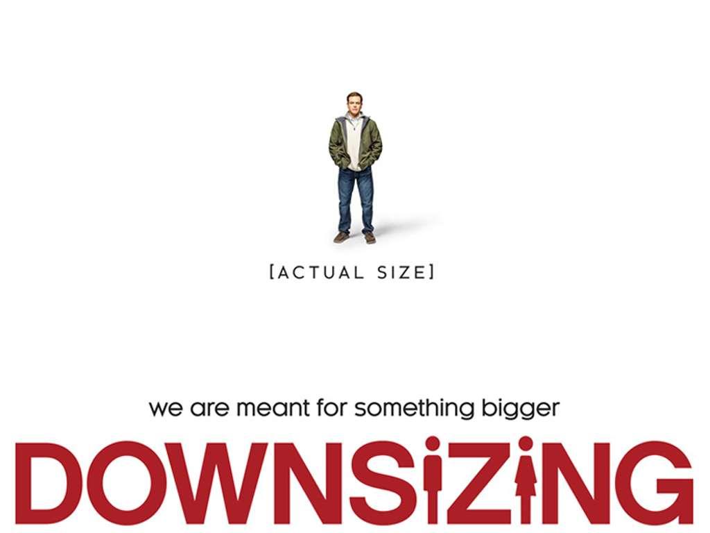 Μικρόκοσμος (Downsizing) Quad Poster