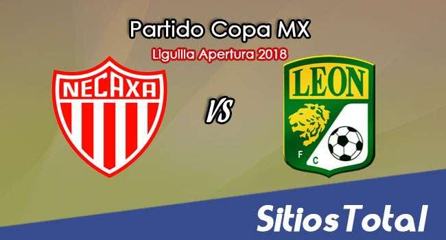 Necaxa vs León en Vivo – Liguilla Copa MX – Octavos de Final – Martes 25 de Septiembre del 2018