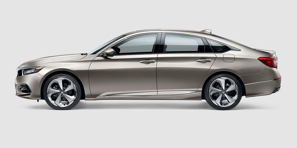 2018 Honda Accord Touring in Champagne Frost