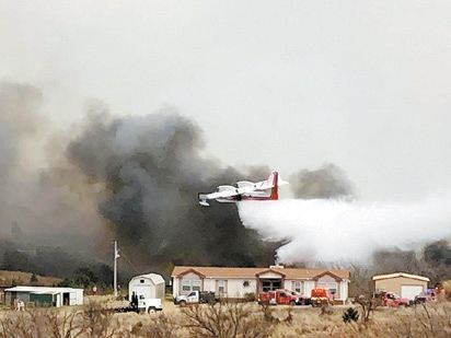 Fires Nearing Total Containment