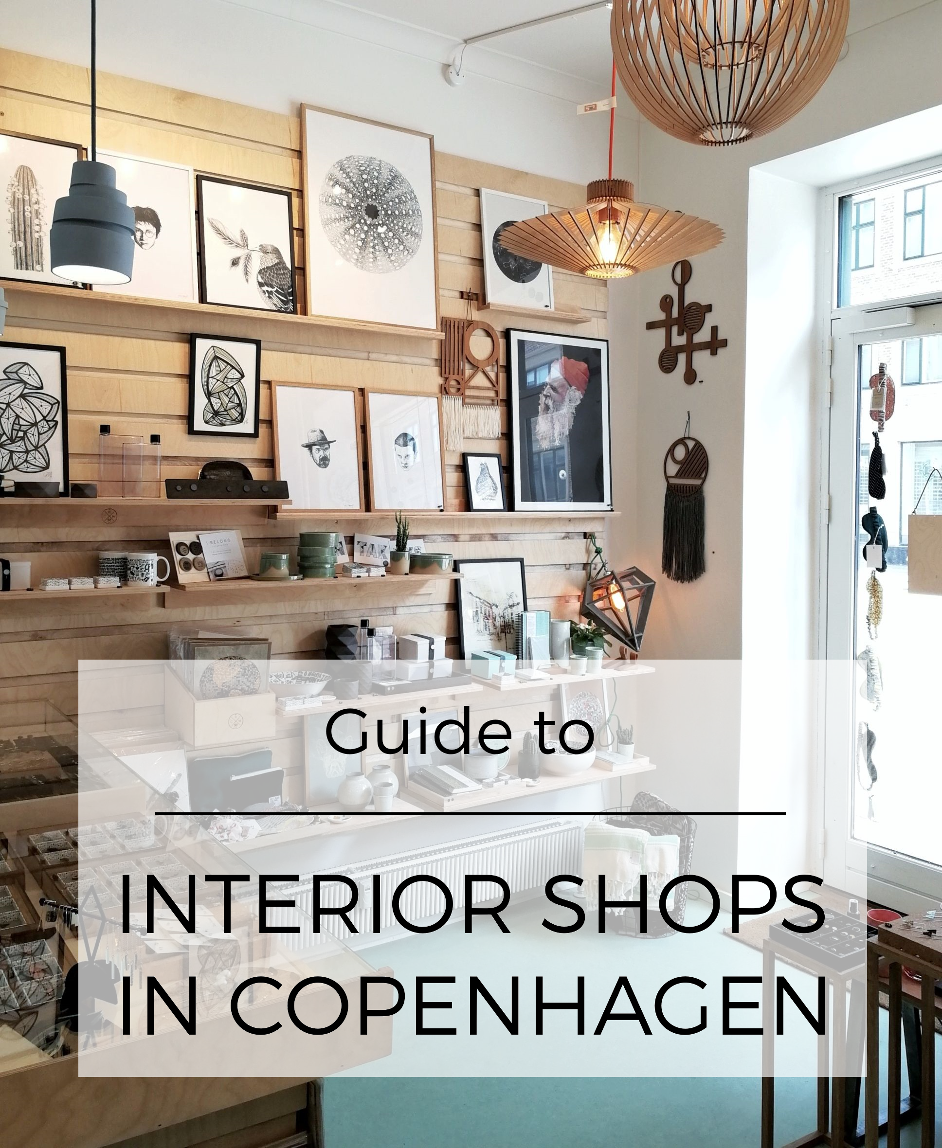 Guide to Interior shops in Copenhagen by Kreavilla.com