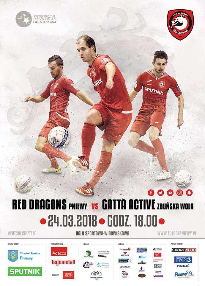 Red Dragons Pniewy – Gatta Active Zduńska Wola