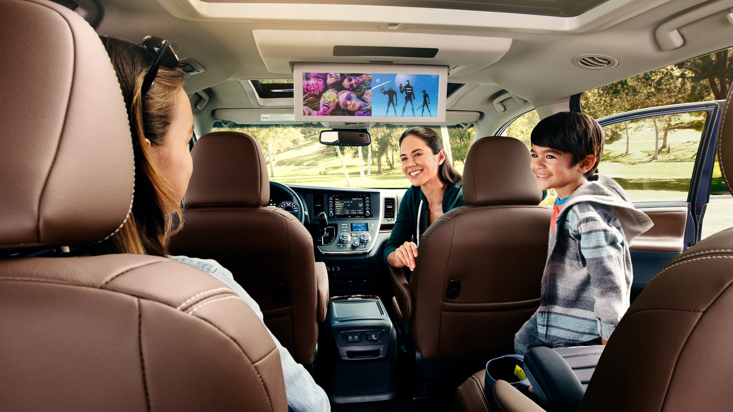 2019 Toyota Sienna Seating Configurations