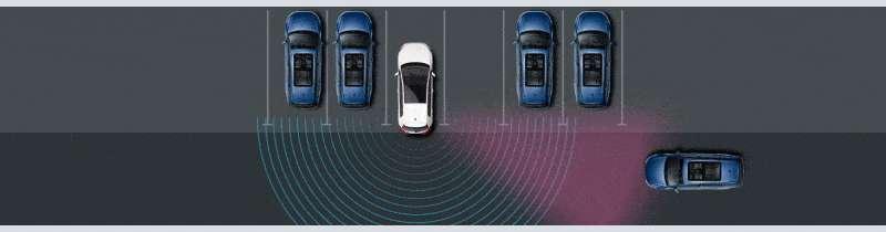 Volkswagen Driver Assistance Rear Traffic Alert