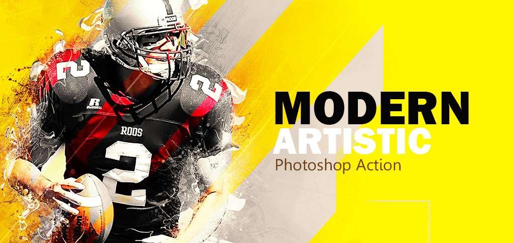 Gif Animated Glitch - Photoshop Templates - 25
