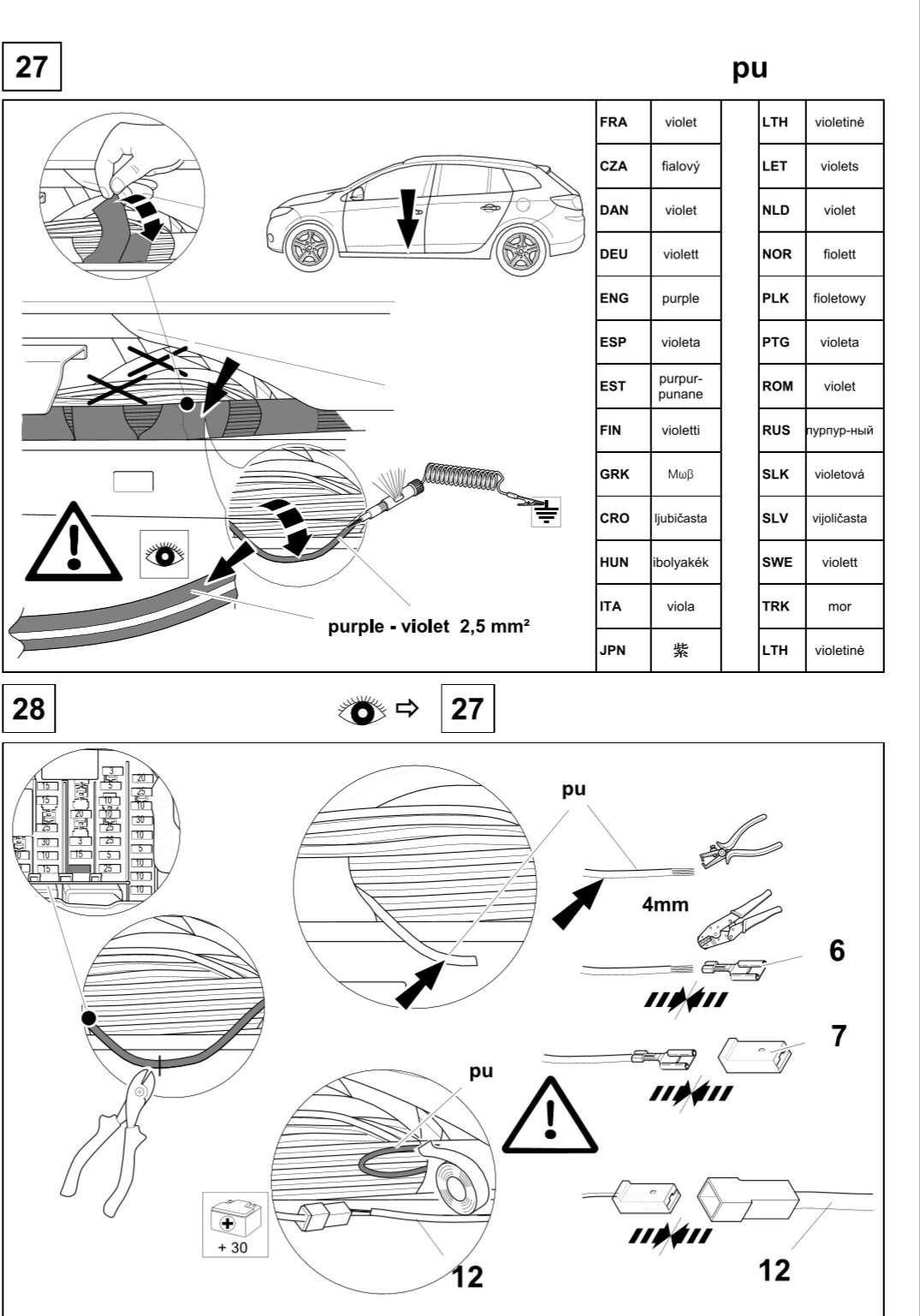 tuto montage attelage megane estate pour prise 7 fils page 18. Black Bedroom Furniture Sets. Home Design Ideas