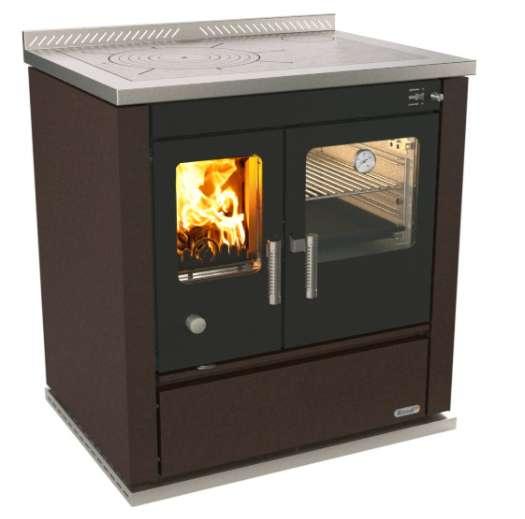 Cucina a legna rizzoli modello s90 colore ruggine imar - Cucina a legna rizzoli ...