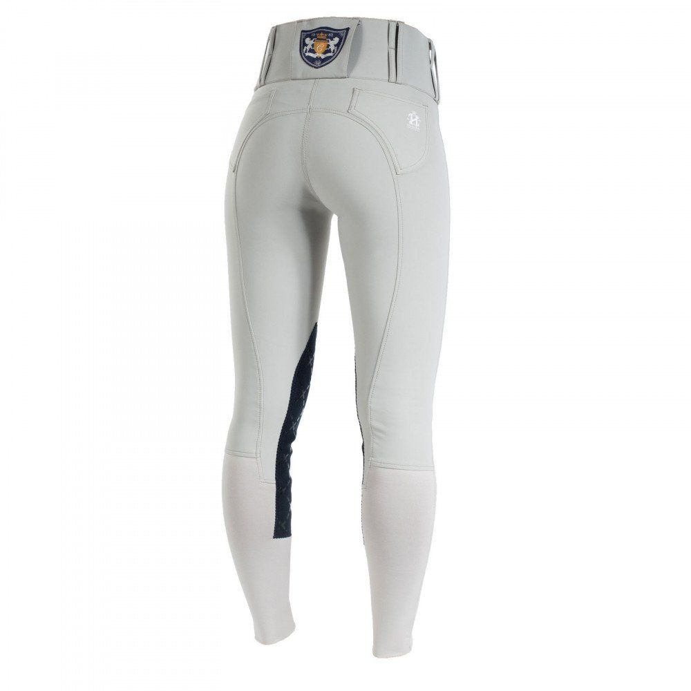 Horze-Desiree-Women-039-s-Knee-Patch-Riding-Breeches-with-High-Waist-and-Bi-Stretch thumbnail 15