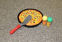 Cut-and-play Pizza Set