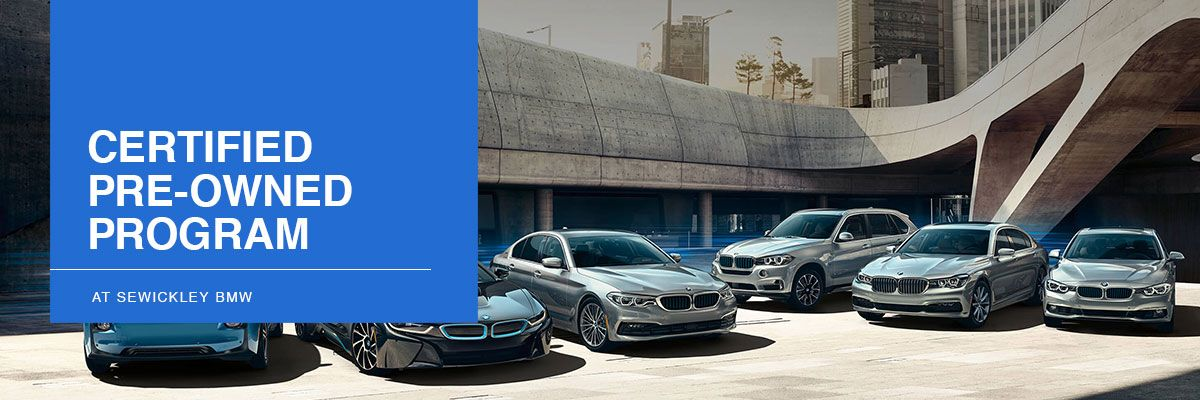 BMW Certified Pre-Owned Overview at Sewickley BMW