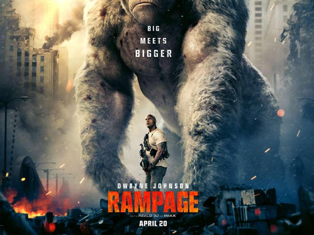 Rampage: Το Απόλυτο Χάος (Rampage) Movie