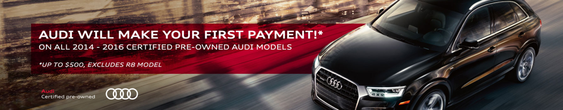 Certified Pre-Owned Audi Cars for Sale Near Los Angeles