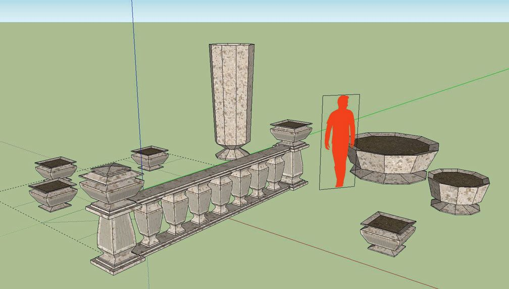 My Adventures In SketchUp: A Brief Account - Fall 2016 - My Second CSO Forum Image, Image 04