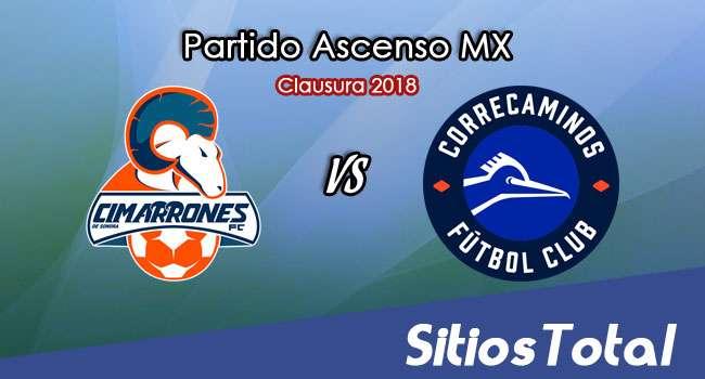 Cimarrones de Sonora vs Correcaminos en Vivo – Ascenso MX – Viernes 2 de Febrero del 2018