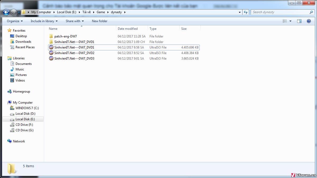 Cách mount file iso vào ổ đĩa ảo - hướng dẫn sử dụng