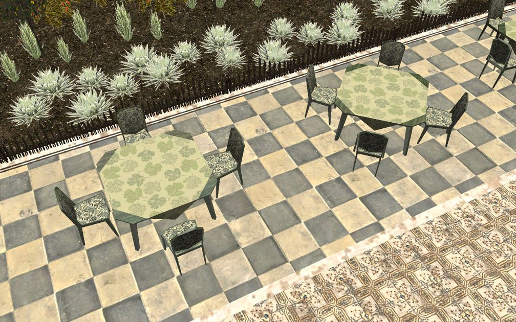 My Projects – CSO's I Have Imported, Café - Dining Tables in Sidewalk Setting, Image 05