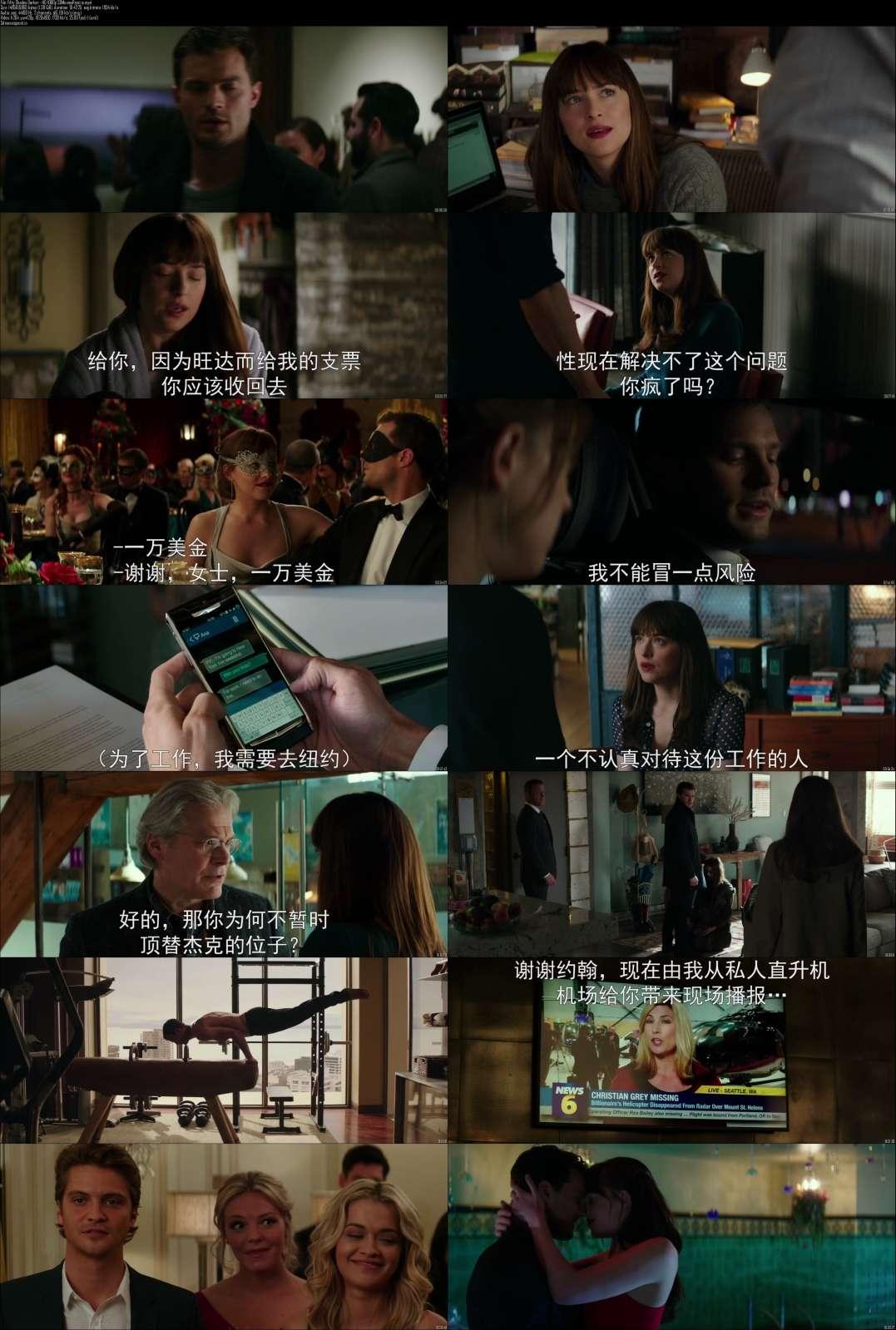 Screen Shots Fifty Shades Darker 2017 Full HD Movie Download 1080p