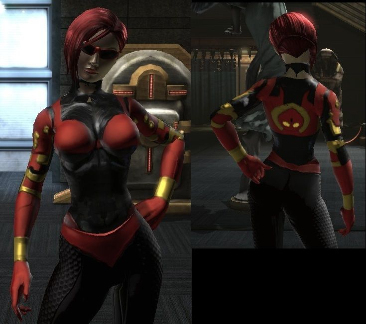 Robotic Eyes Face Style Female Only Dc Universe Online Forums
