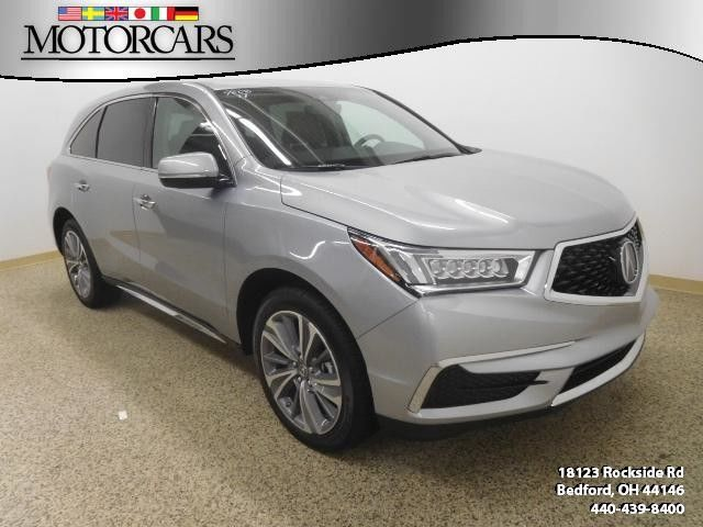 2017 Acura MDX AWD with Technology Package and Rear Entertainment Package Sale Bedford Ohio