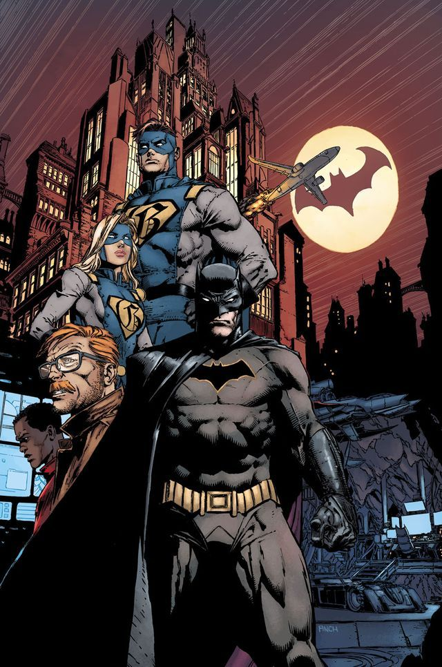 457ecc971bfe1 Join writer Tom King and artist David Finch as they launch Batman into a  brave new era in this ...