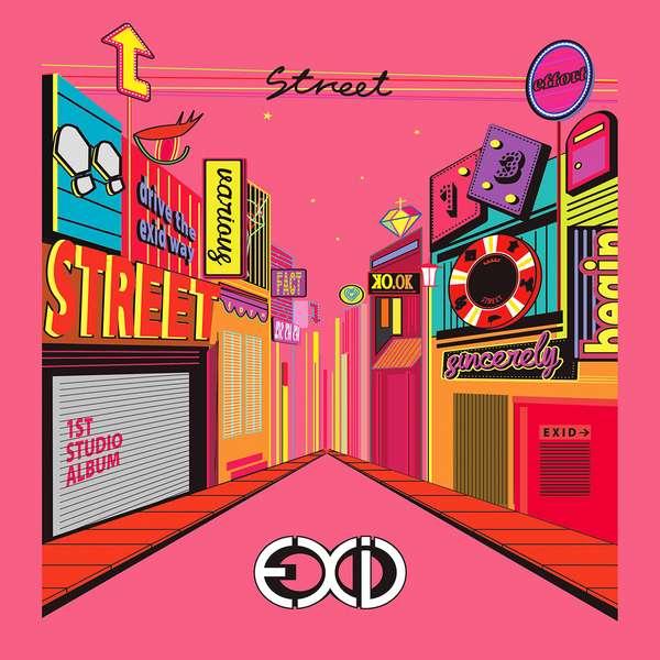 Image result for EXID,Street album