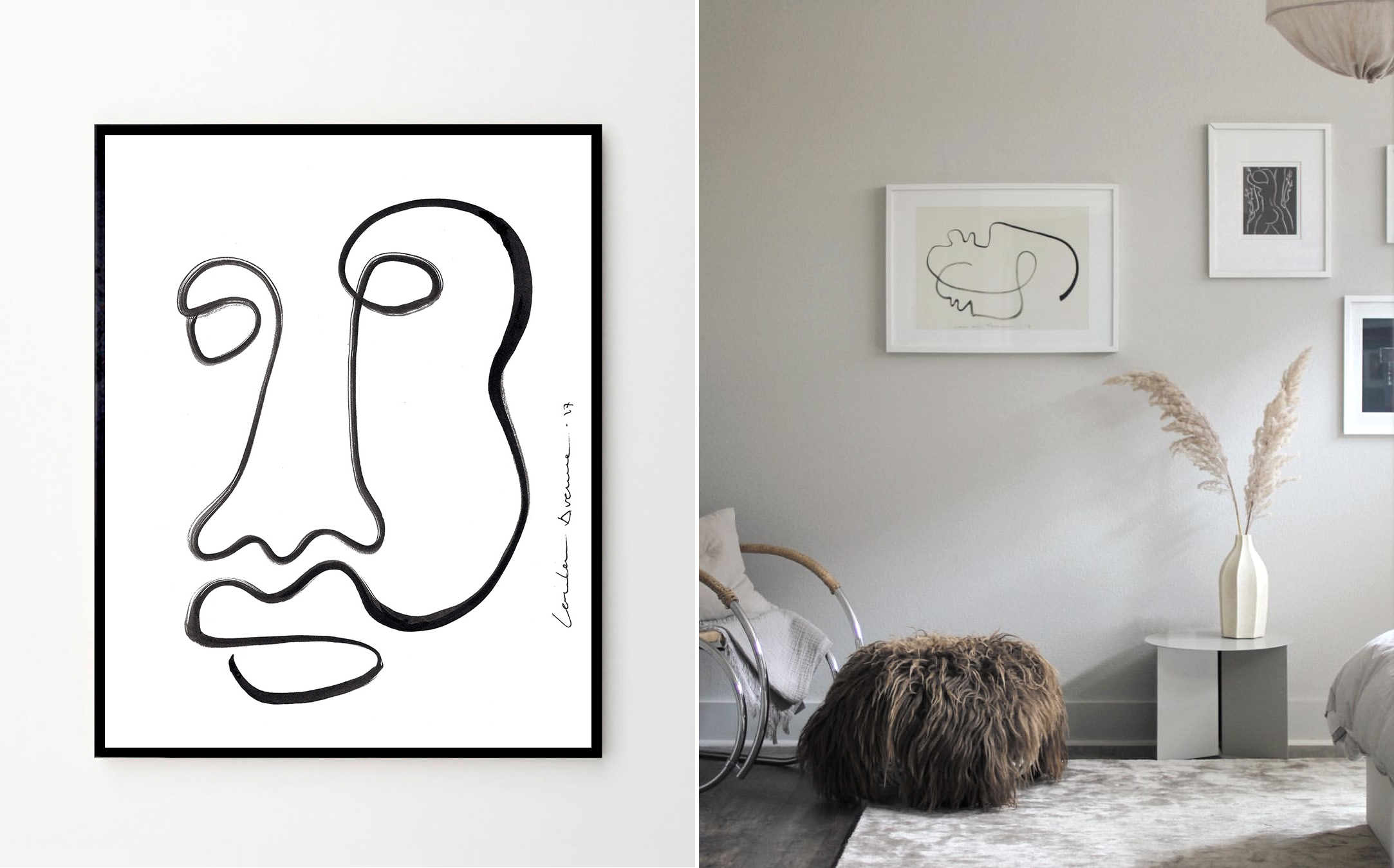 Posters: One line drawings | Kreavilla