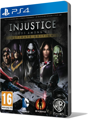 [PS4] Injustice: Gods Among Us Ultimate Edition (2013) - SUB ITA