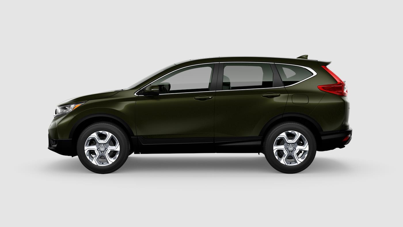 2018 Honda CR-V EX in Dark Olive