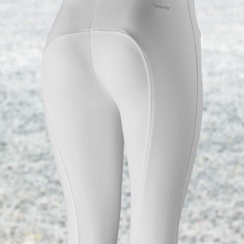 Horze-Women-039-s-Active-Silicone-Grip-Full-Seat-Riding-Breeches-Elastic-Leg-Bottoms thumbnail 14