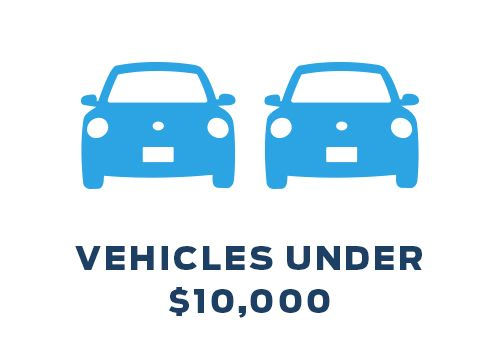 Bargain Inventory - Vehicles Under $10,000