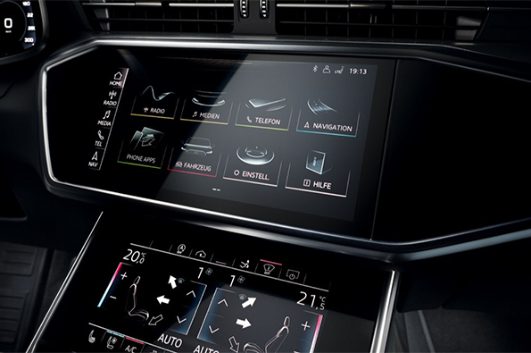 2019 Audi A7 MMI Touch Response Operating System