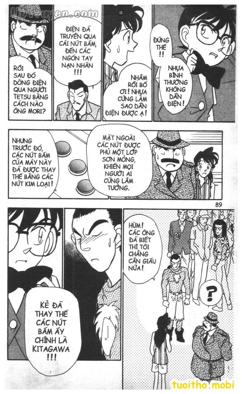 đọc truyện Conan bộ đặc biệt chap 22 trang 12