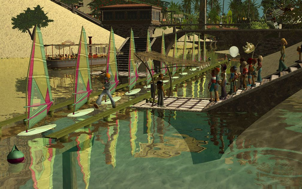 My Projects - CSO's I Have Imported, CFR and CTR CSO's - In-Game Water Ride Station Base And Supports, A, Image 16