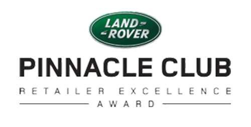 Land Rover Pinnacle Club Award