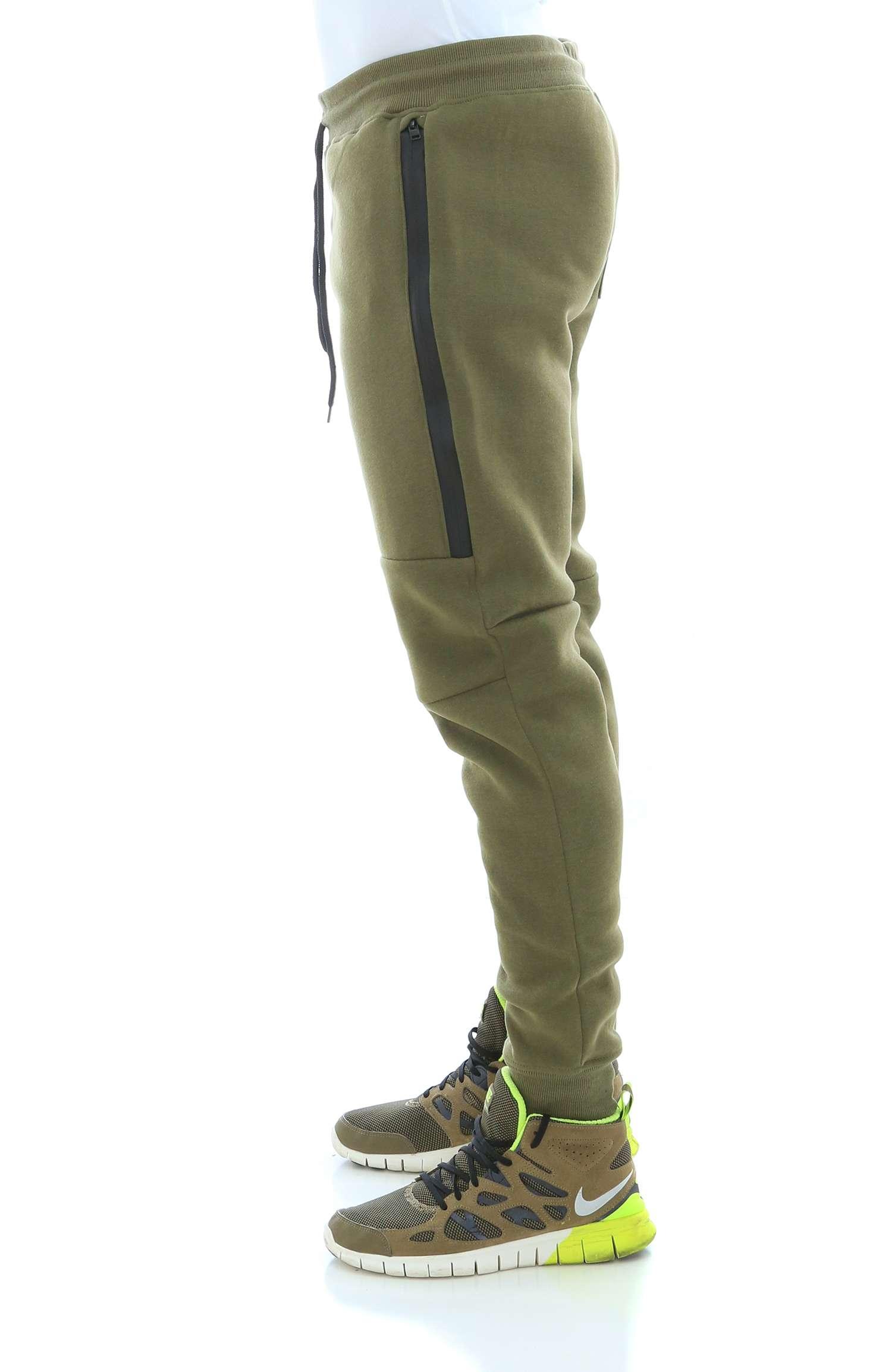 WT02-Men-039-s-Fleece-Jogger-Sweatpants-With-Bonded-Zippers thumbnail 13