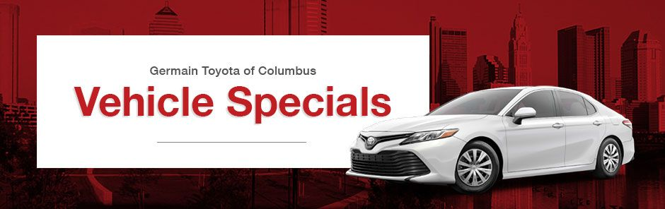 Toyota Vehicle Specials Page