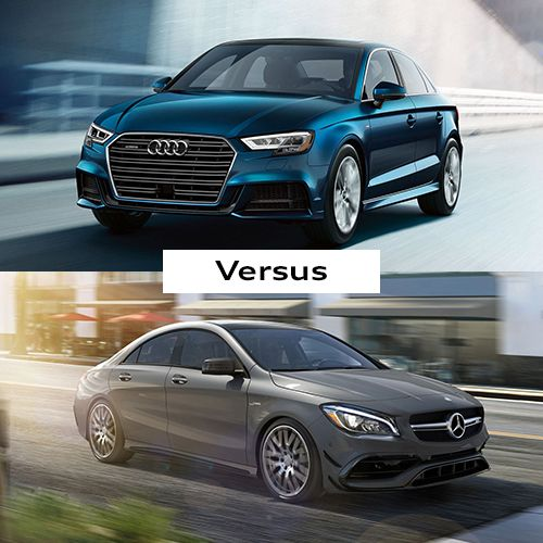 Audi vs. Mercedes-Benz at Audi Cincinnati East