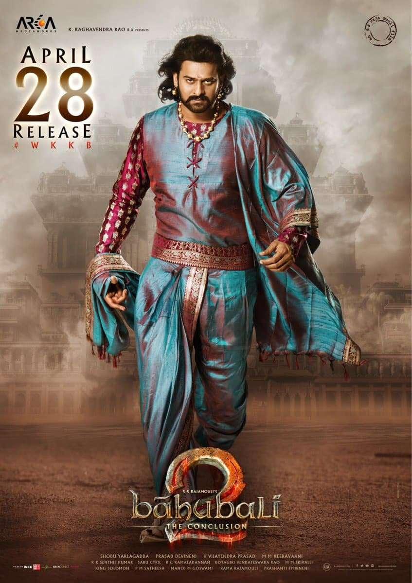 Poster Baahubali 2 (2017) Full Hindi Movie Download Free HD-CAM