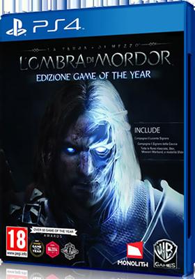 [PS4] La Terra di Mezzo: L'Ombra di Mordor - Game of the Year Edition (2015) - FULL ITA