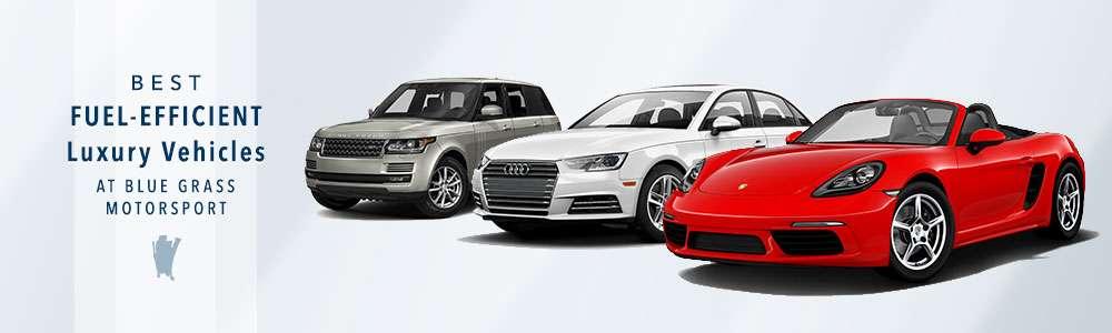 Most Fuel Efficient Luxury Vehicles
