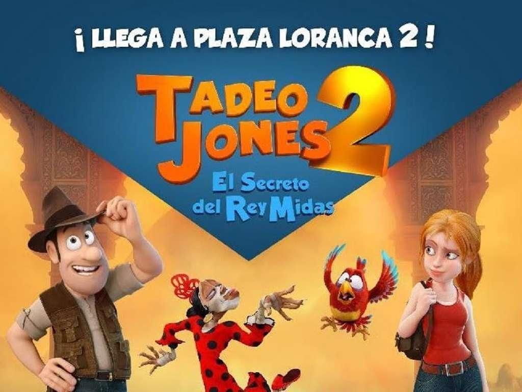 Tad: Το Μυστικό του Βασιλιά Μίδα (Tadeo Jones 2: El secreto del Rey Midas) Quad Poster Πόστερ