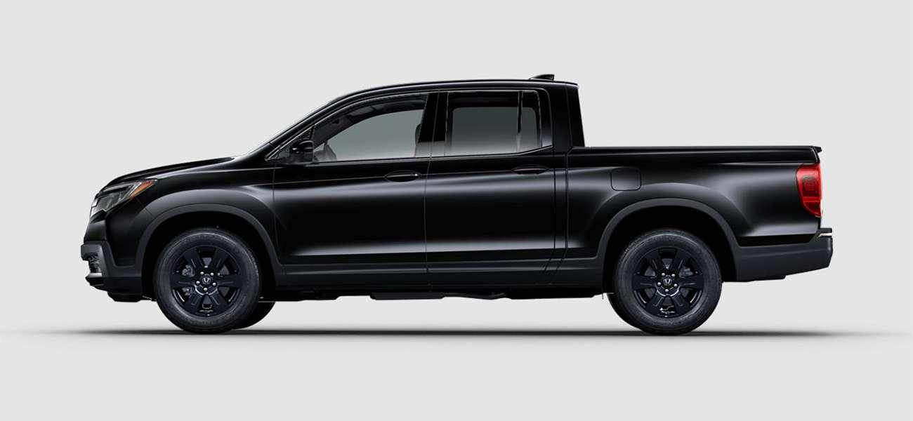 2018 Honda Ridgeline Black Edition in Crystal Black