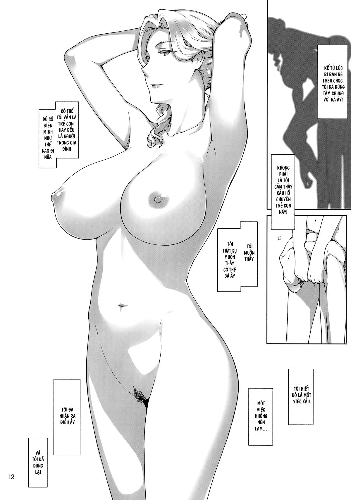 HentaiVN.net - Ảnh 11 - Tanemori-ke no Katei Jijou - 胤盛家ノ家庭事情 ; Gia cảnh của gia đình nhà Tanemori - Chap 01
