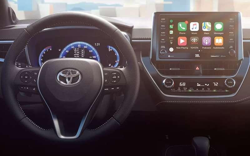 2019 Toyota Corolla Hatchback Entune 3.0 Multimedia